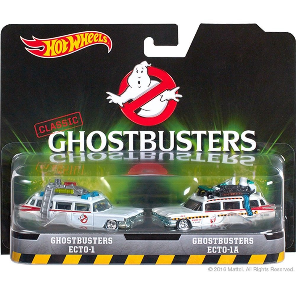 2016 Hot Wheels Classic Ghostbusters 2 pack Ecto-1 /& Ecto 1-A BRAND NEW