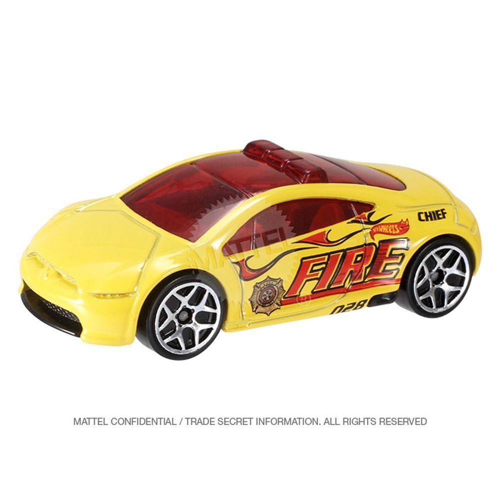 Hot Wheels 2013 018 Mitsubishi Eclipse Concept Car Amarelo