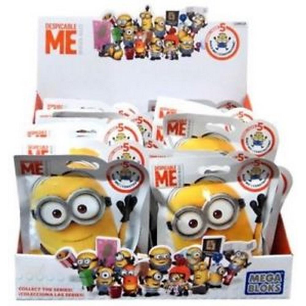Mega Blocks Minions Series 5 - Figura Surpresa - Mattel Código  MA-DKW82 4305cd46c3fb3