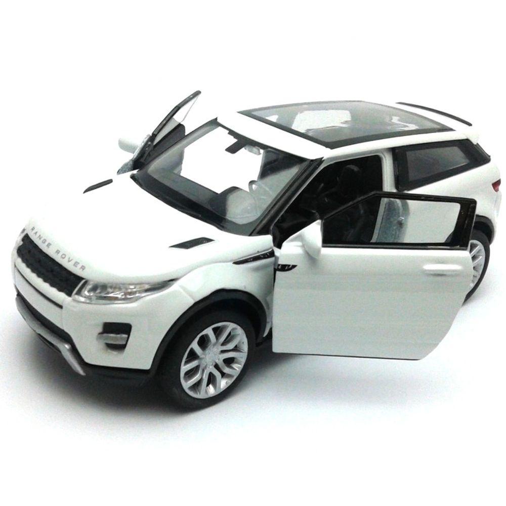 Welly 1 34 - Land Rover Range Rover Evoque - branca - Kolecionando 7fbc1028b7