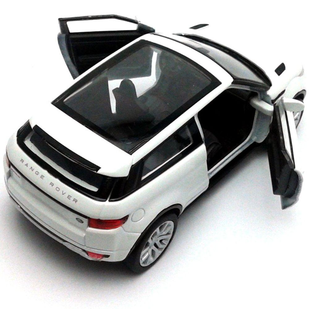 Welly 1 34 - Land Rover Range Rover Evoque - branca. Código  WL-43649.1 c884292385